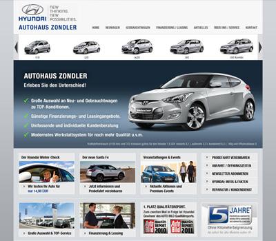 Hyundai Autohaus Zondler