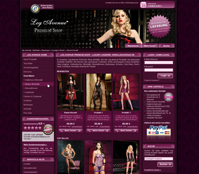 Leg Avenue Premium Shop