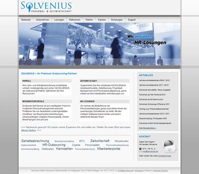 Solvenius GmbH – Personal- & Zeitwirtschaft