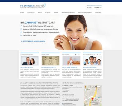 Zahnarztpraxis Dr. Schröder & Partner Kompetenz-Zentrum Moderne Zahnmedizin in Stuttgart