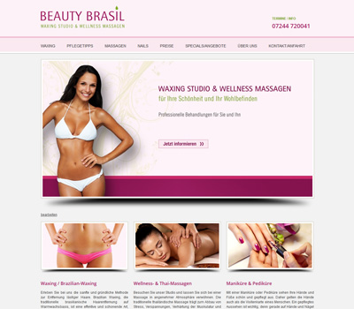 BEAUTY BRASIL - Brazilian Waxing, Wellness Massagen & Nagelstudio in Stutensee bei Karlsruhe/Bruchsal. Waxing, Thai-Massagen, Maniküre & Pediküre.